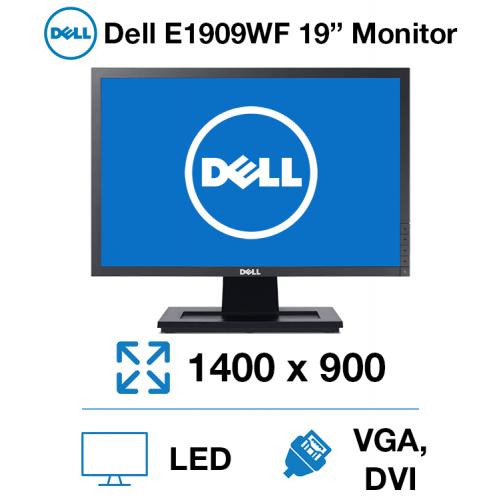 """Dell E1909WF 19"""" Monitor"""