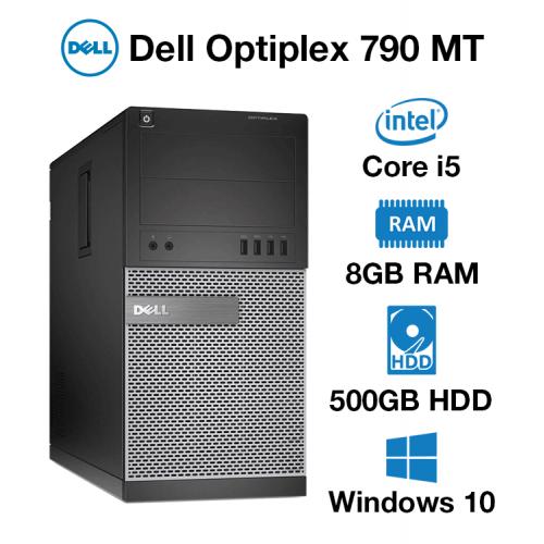 Dell Optiplex 790 MT Core i5   8GB RAM   500GB HD