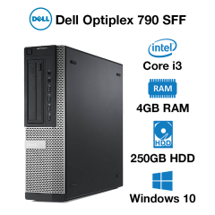 Dell Optiplex 790 SFF Core i3 | 4GB | 250GB HD