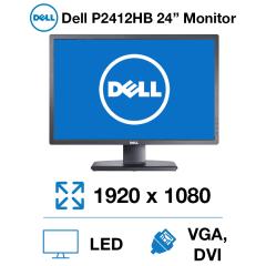 """Dell P2412HB 24"""" Monitor"""