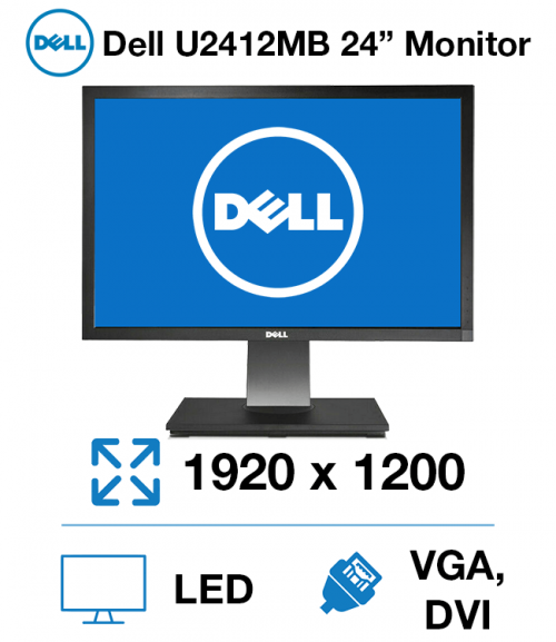 "Dell U2412Mb 24"" Monitor"