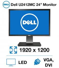 "Dell U2412Mc 24"" Monitor"