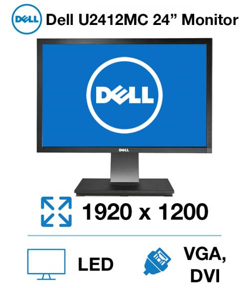 """Dell U2412Mc 24"""" Monitor"""