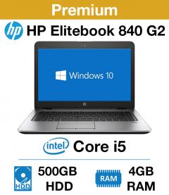 HP Elitebook 840 G2 Core i5 | 4GB RAM | 500GB HD (Premium)