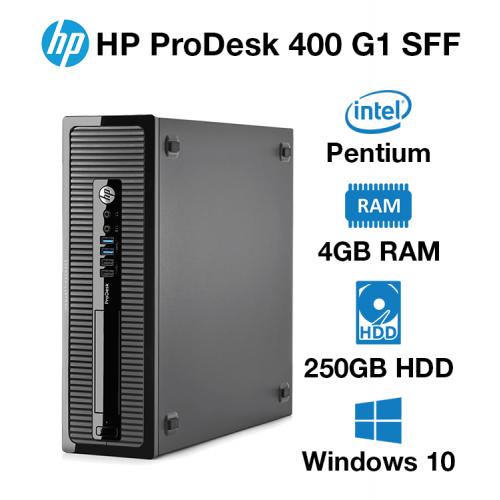 HP ProDesk 400 G1 SFF Pentium G   4GB   250GB HD