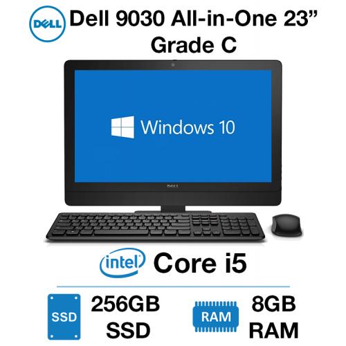 """Dell Optiplex 9030 23"""" All-in-One Core i5   8GB RAM   256GB SSD Grade C (Case Damage)"""
