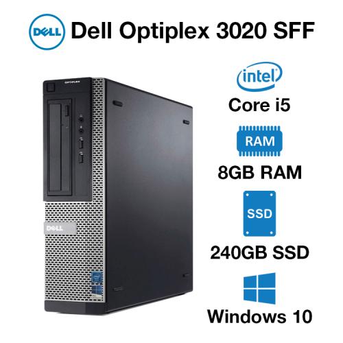 Dell Optiplex 3020 SFF Core i5   8GB RAM   240GB SSD