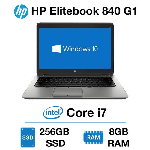 HP Elitebook 840 G1 Core i7 | 8GB RAM | 256GB SSD
