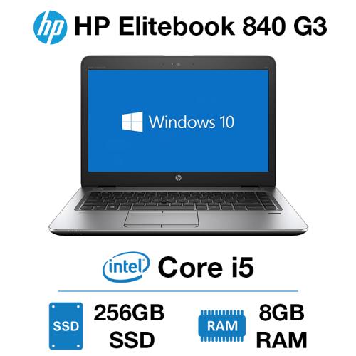 HP Elitebook 840 G3 Core i5   8GB RAM   256GB SSD
