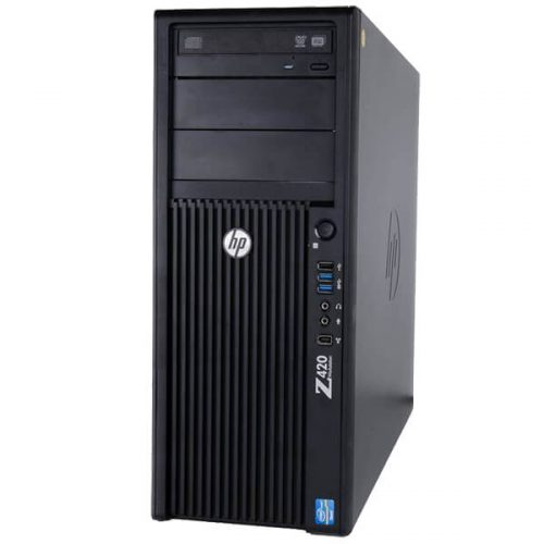 HP Z420 Workstation Xeon E5-1620 | 16GB RAM | 500GB HD | NVIDIA Quadro K4000 3GB Graphics
