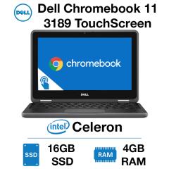 Dell Chromebook 11 3189 TouchScreen Celeron | 4GB | 16GB SSD