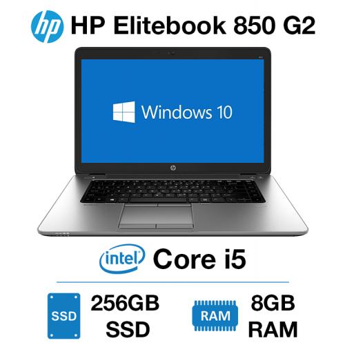 HP Elitebook 850 G2 Core i5   8GB RAM   256GB SSD