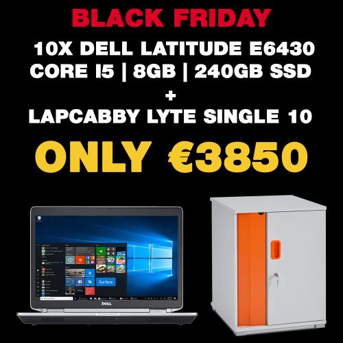 10x Dell Latitude E6430 Core i5 | 8GB | 240GB SSD + LapCabby Lyte Single 10 (School & Charity Offer)