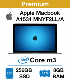 Apple Macbook A1534 MNYF2LL/A Core m3 | 8GB RAM | 256GB SSD (Premium)