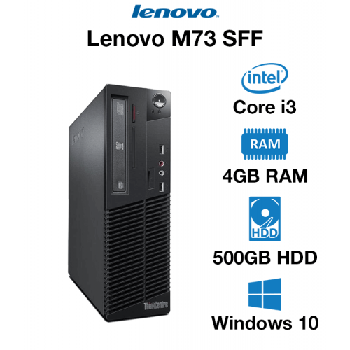 Lenovo ThinkCentre M73 SFF Core i3   4GB RAM   500GB HD