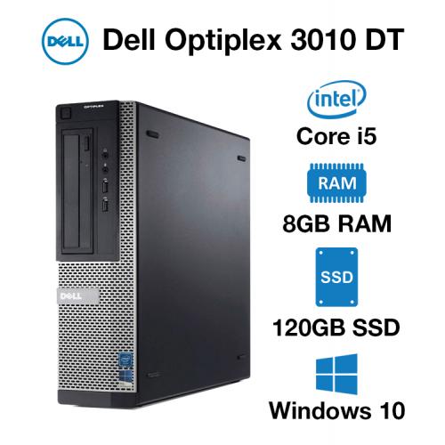 Dell Optiplex 3010 DT Core i5 | 8GB | 120GB SSD