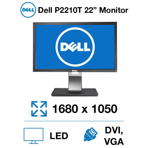 """Dell P2210T 22"""" Monitor"""