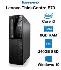 Lenovo ThinkCentre E73 SFF Core i3 | 8GB RAM | 240GB SSD (School & Charity Offer)