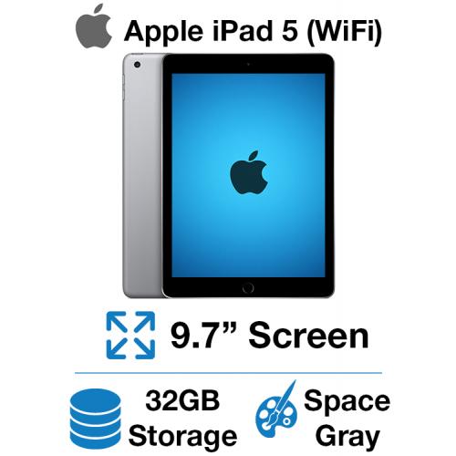 Apple iPad 5th Gen (WIFI) 32GB Space Gray