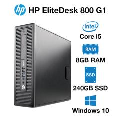 HP EliteDesk 800 G1 SFF Core i5 | 8GB | 240GB SSD