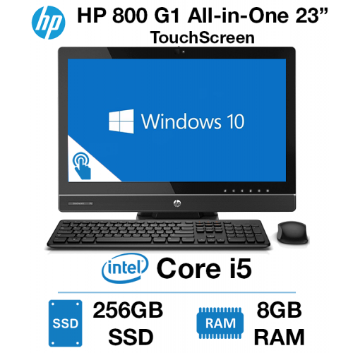 """HP EliteOne 800 G1 23"""" TouchScreen All-in-One Core i5 
