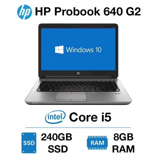HP Probook 640 G2 Core i5 | 8GB RAM | 240GB SSD | Webcam