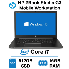 HP ZBook Studio G3 Mobile Workstation Core i7-6820HQ | 16GB RAM | 512GB SSD | NVIDIA Quadro M1000M 2GB
