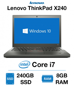 Lenovo ThinkPad x240 Core i7 | 8GB RAM | 240GB SSD