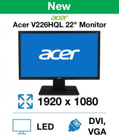 "Acer V226HQL 22"" Monitor (New)"