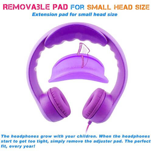 Easy2Use Almost Unbreakable Headphones for Kids