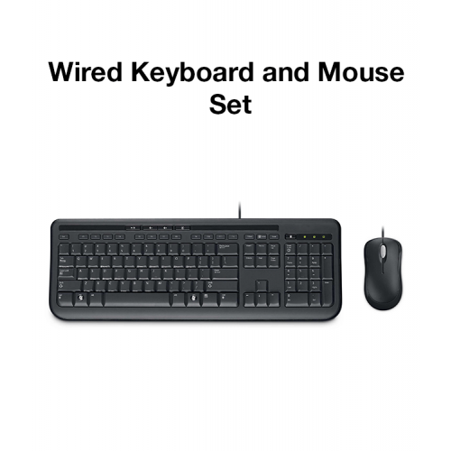 Wired Keyboard & Mouse Set