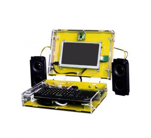 "LapPi: 5"" DIY Laptop Kit With Raspberry Pi"