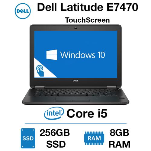 Dell Latitude E7470 Core i5 | 8GB RAM | 256GB SSD TouchScreen