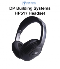 DP BUILDING SYSTEMS HP517 Headset