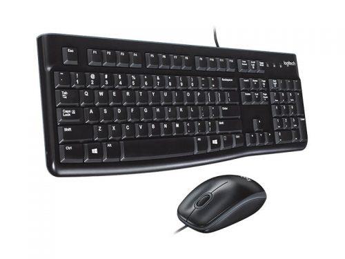Logitech MK120 Wired Keyboard & Mouse Set