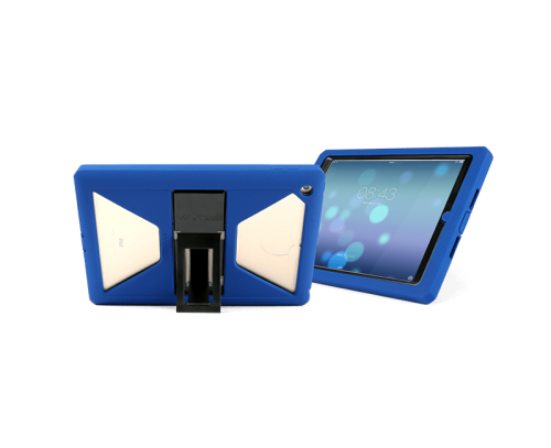 MaxCases Shield Extreme-S Case for iPad 5th Gen/6th Gen - Blue - Sleek Version with Kickstand