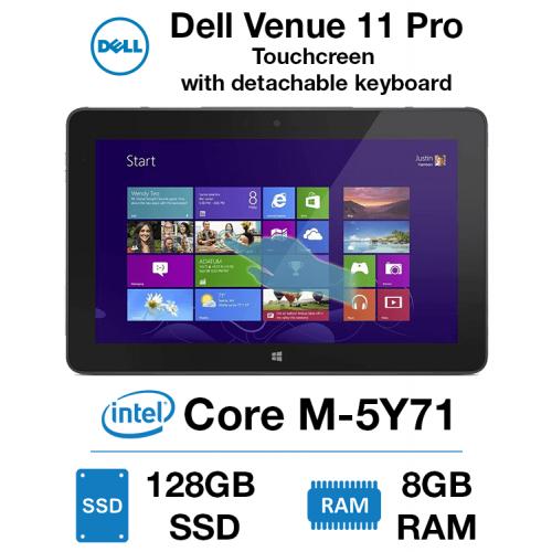Dell Venue 11 Pro 7140 TouchScreen Core M-5Y71   8GB RAM   128GB SSD