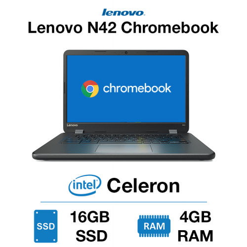 Lenovo N24 Chromebook Celeron | 4GB | 16GB SSD