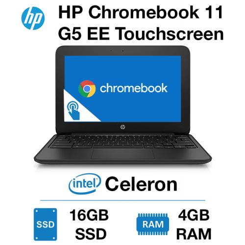 HP Chromebook 11 G5 EE TouchScreen Celeron   4GB   16GB SSD