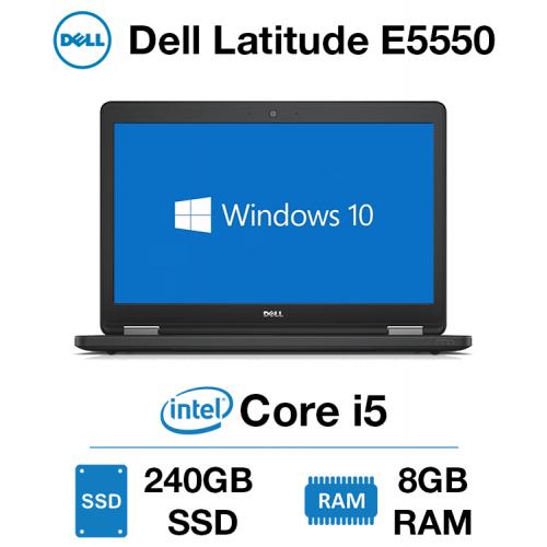 Dell Latitude E5550 Core i5 | 8GB RAM | 240GB SSD