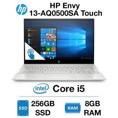 HP Envy 13-AQ0500SA Touch Core i5 | 8GB RAM | 256GB SSD | Windows 10 Home (Open Box)