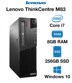 Lenovo ThinkCentre M83 Core i7 | 8GB RAM | 256GB SSD