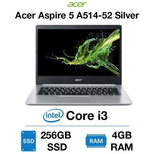 Acer Aspire 5 A514-52 Core i3   4GB   256GB SSD   Windows 10 Home (Open Box) Silver