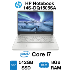 HP Notebook 14S-DQ1505SA Core i7 | 8GB | 512GB SSD | Windows 10 Home (Open Box)