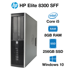 HP Compaq Elite 8300 SFF Core i5 | 8GB | 256GB SSD