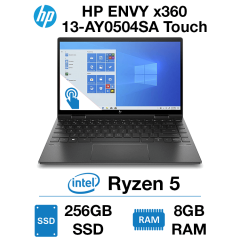 HP ENVY x360 13-AY0504SA Touch Ryzen 5 | 8GB RAM | 256GB SSD | Windows 10 Home (Open Box)