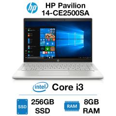 HP Pavilion 14-CE2500SA Core i3   8GB RAM   256GB SSD   Windows 10 Home (Open Box)