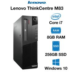 Lenovo ThinkCentre M83 Core i7 | 8GB RAM | 256GB SSD | DVD