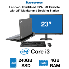 Lenovo ThinkPad x240 i3 Docking station Bundle
