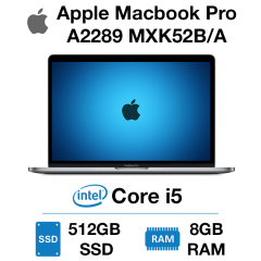 Apple Macbook Pro A2289 MXK52B/A Core i5 | 8GB | 512GB SSD
